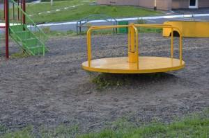ПГС на детской площадке
