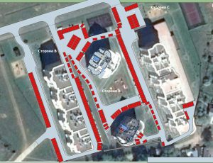 План парковки на территории комплекса. Предварительная версия 0.6